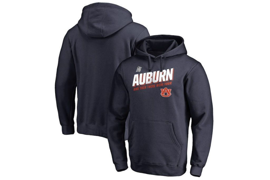 Auburn 2019 NCAA Final Four Hoodie Sweatshirt.