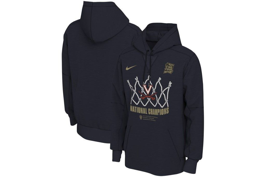 Nike Virginia Cavilers National Champions Locker Room Pullover Hoodie at Fanatics.
