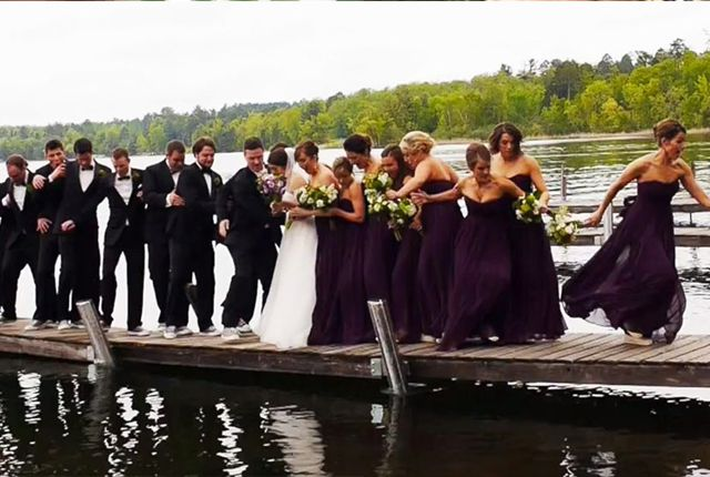 Wedding photo fails