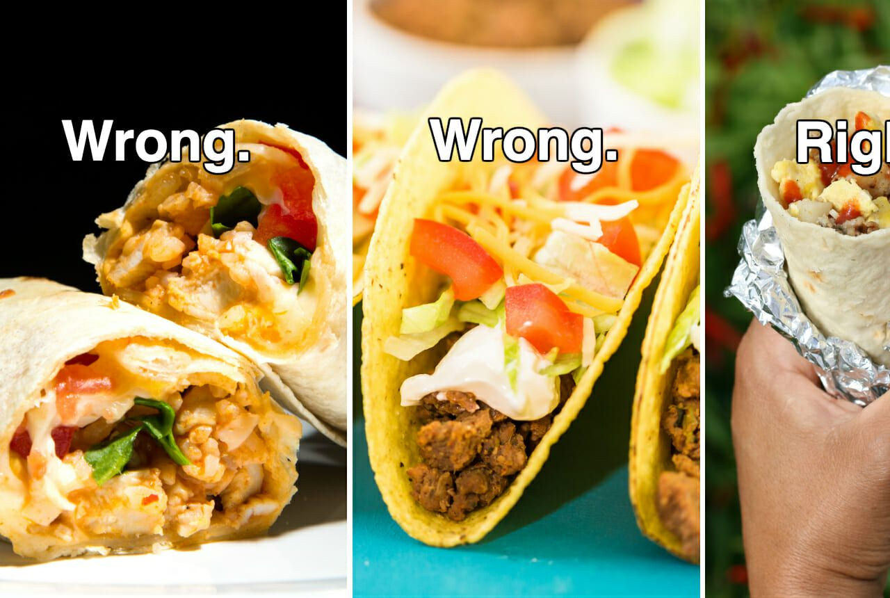 eating mexican food wrong
