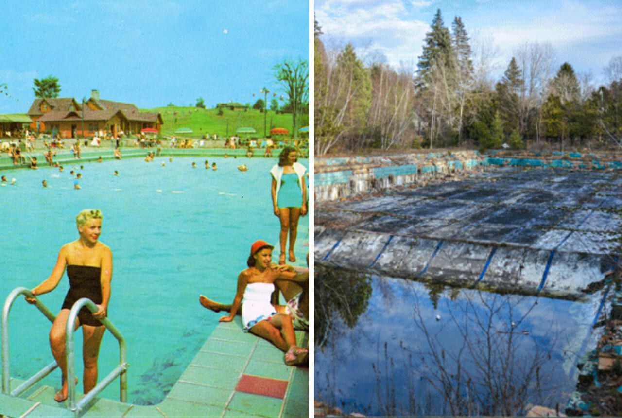 abandoned '60s resorts then and now