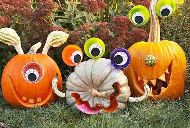 adorable pumpkin carvings