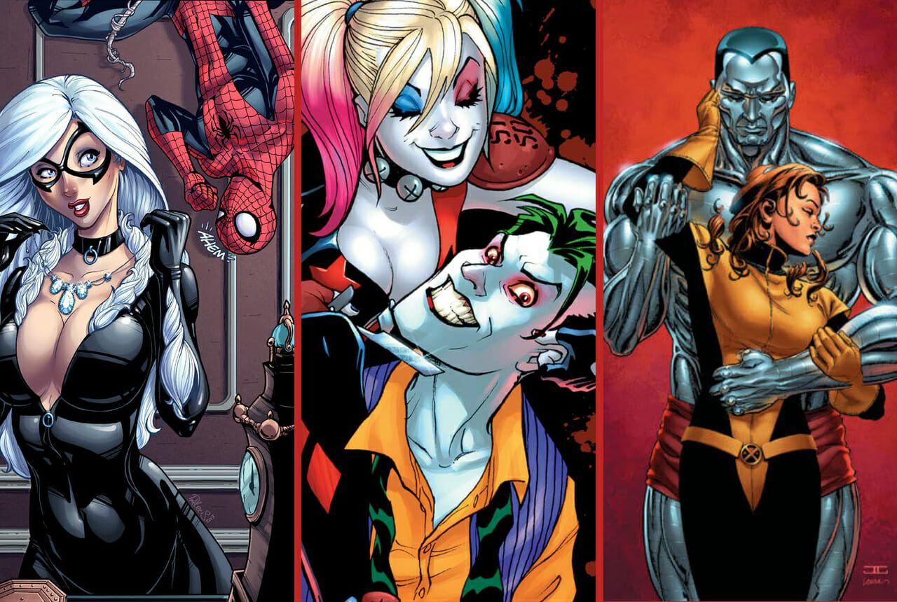 dysfunctional superhero couples