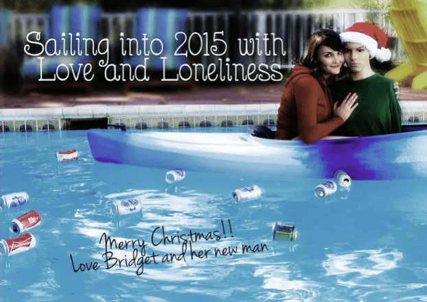 Lonely Christmas Cards From Single People
