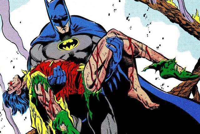 violent comics deaths