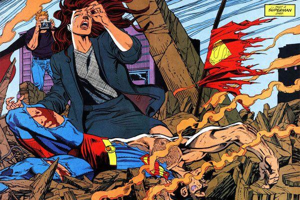violent comic deaths
