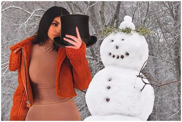 parody Instagram account of Kylie Jenner doing stuff