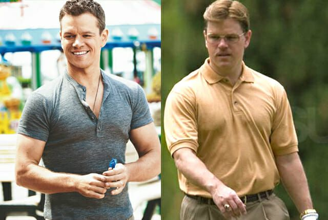 celebrities who gained weight for movie roles
