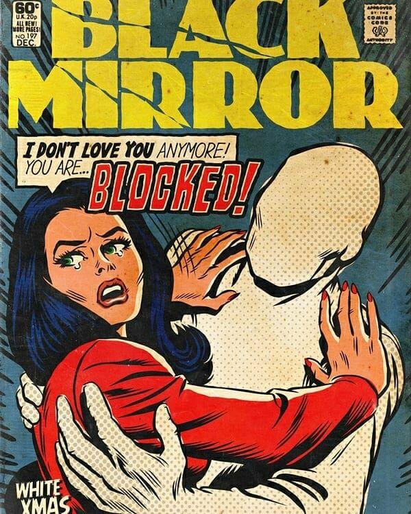 black mirror comic covers