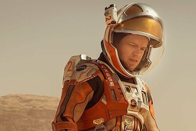 best sci-fi movies set on mars