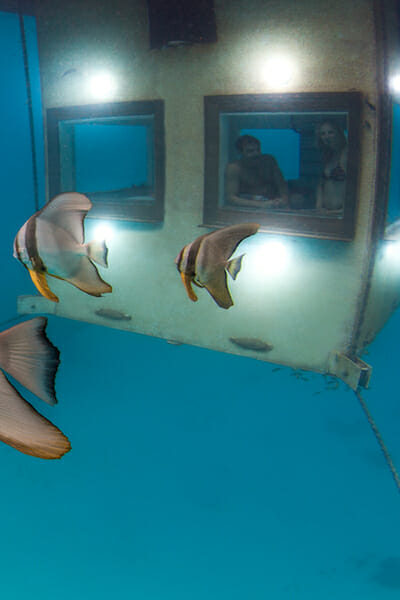 Manta Resort (Pemba Island, Zanzibar). Underwater Hotels