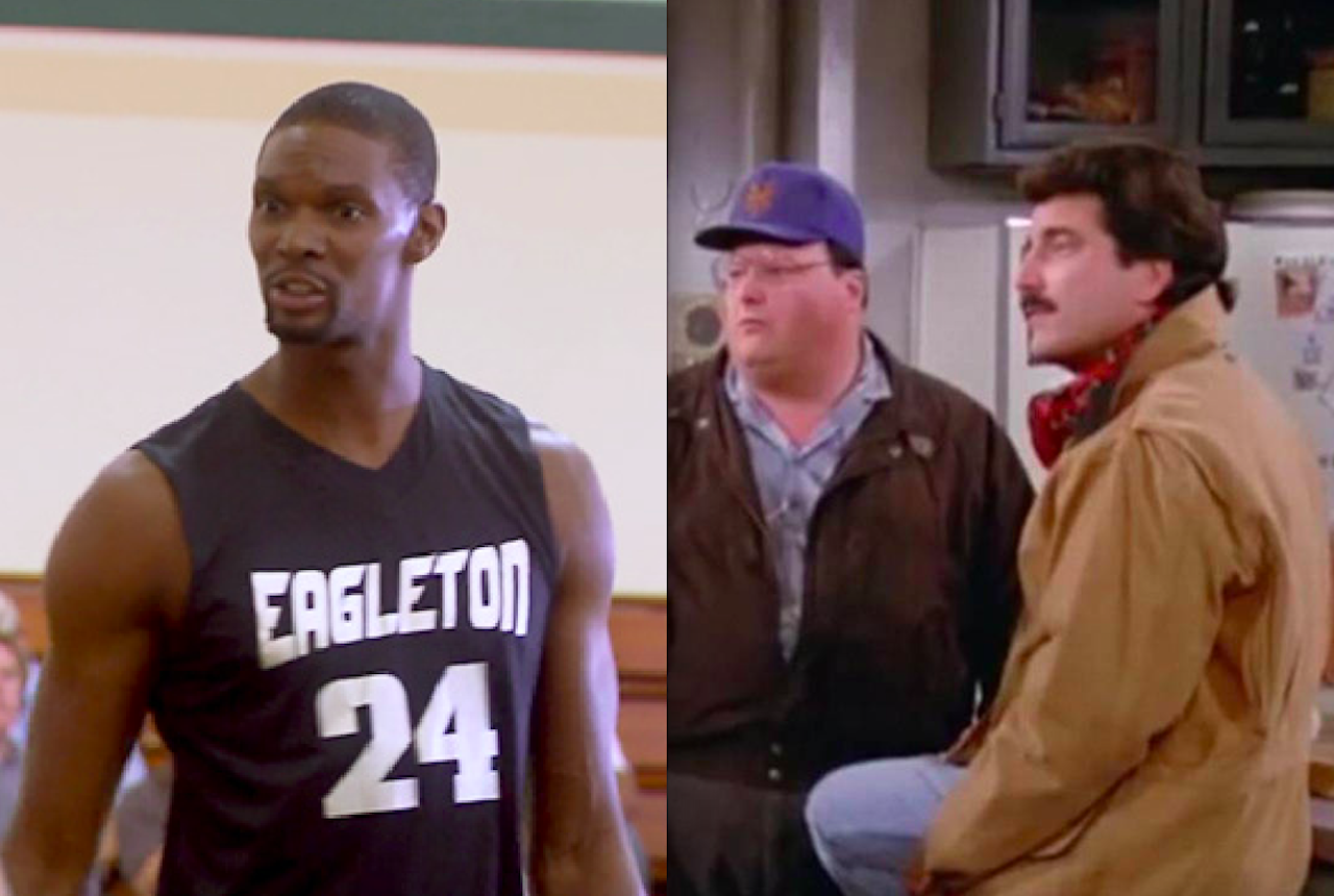 tv cameos by athletes