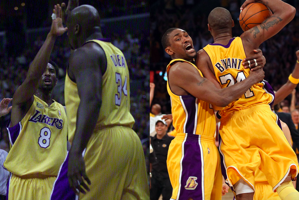kobe bryant's best NBA Finals teammates