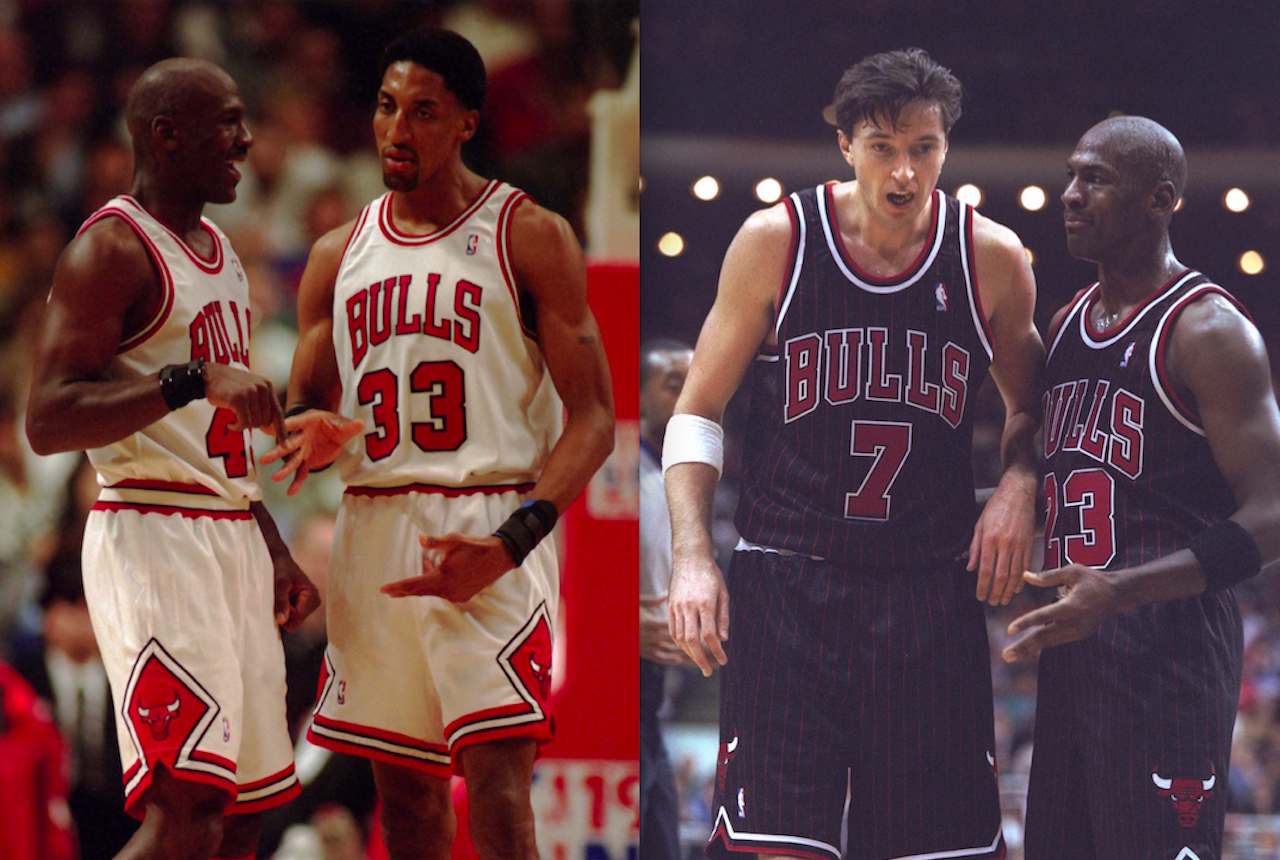 michael jordan's best teammates