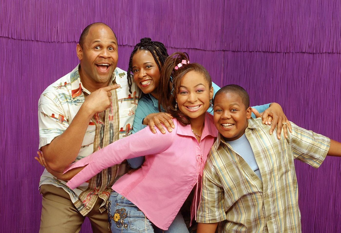 the cast of That's So Raven