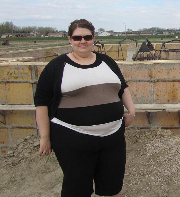 Amanda Wood's weight loss transformation
