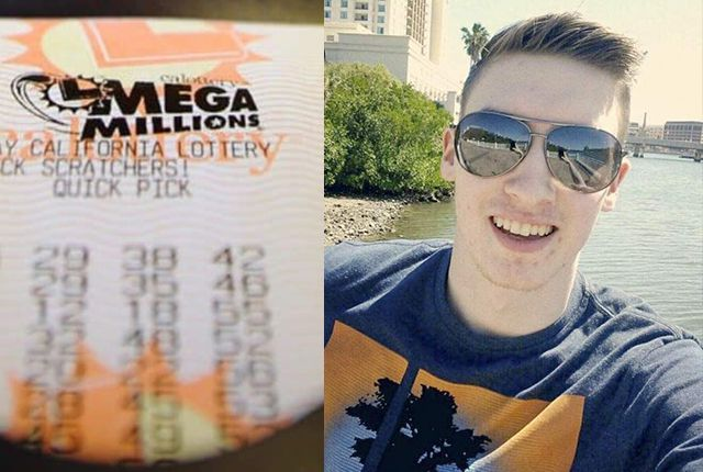 millennial kid wins a huge lottery jackpot