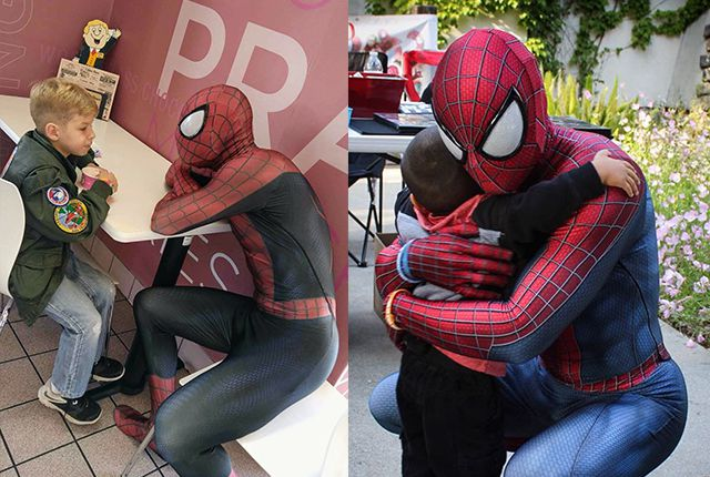 real-life Spider-Man