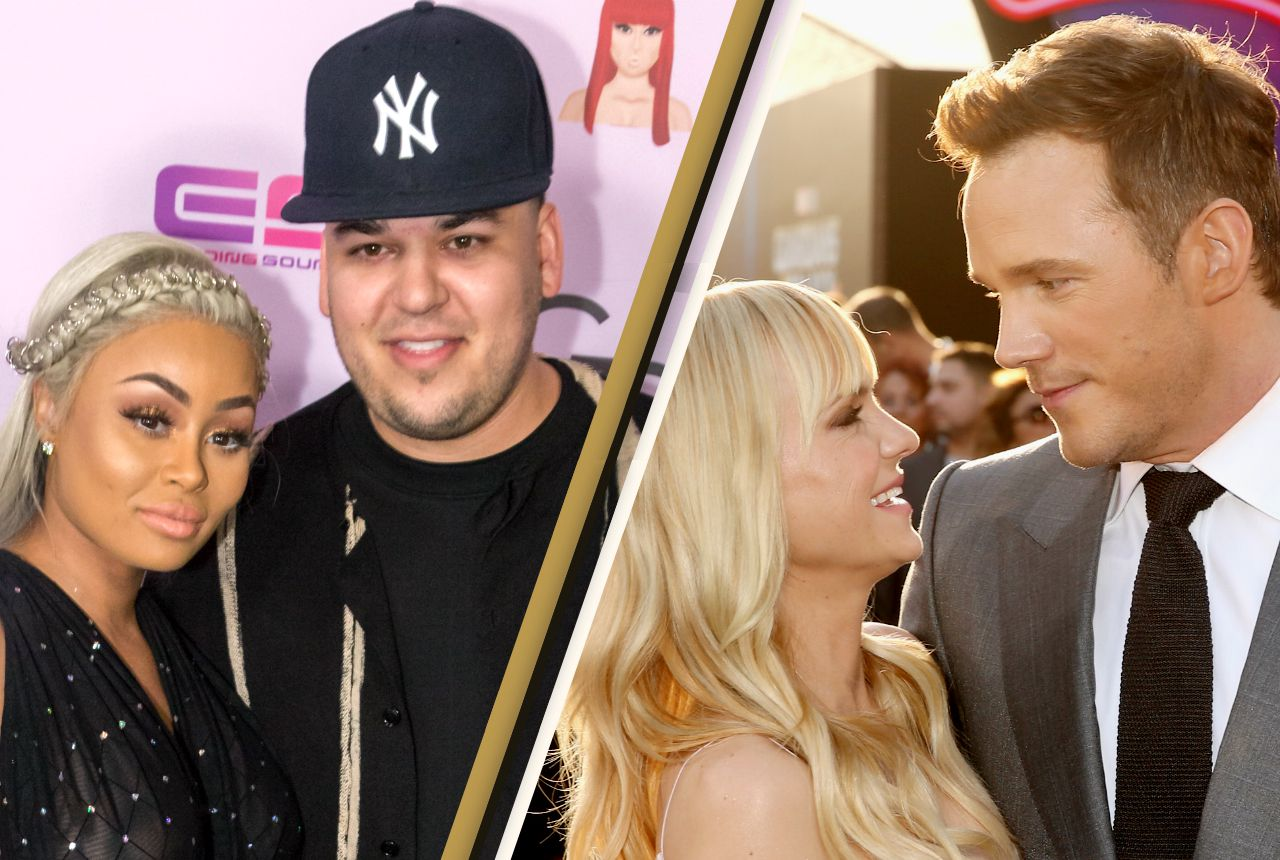 celebrities who dumped hot partners