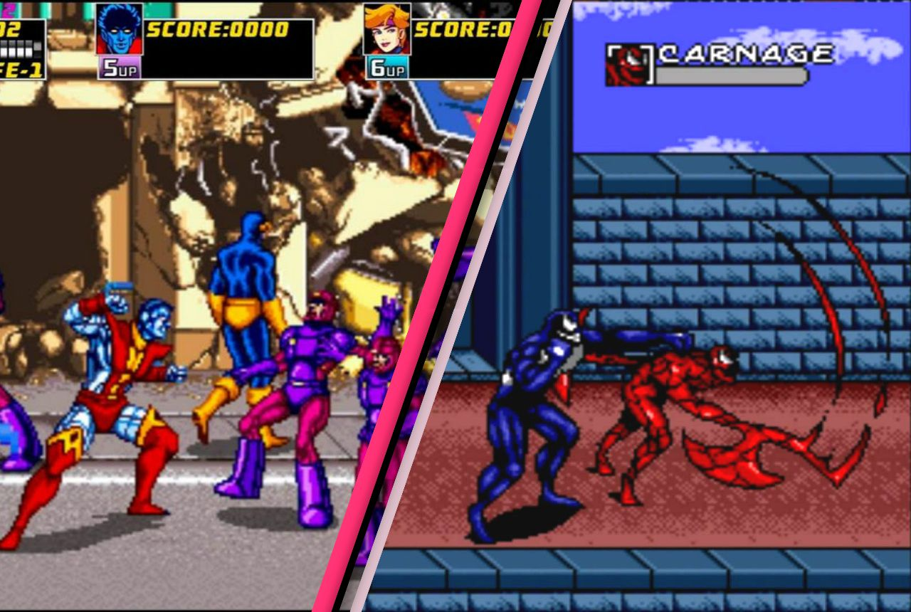 obscure comic book video games