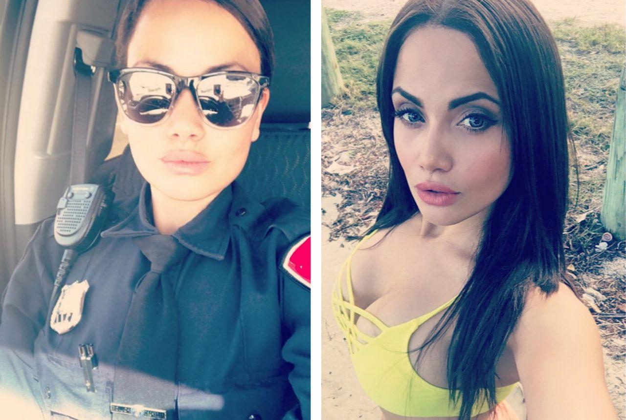 hot cop's secret double life