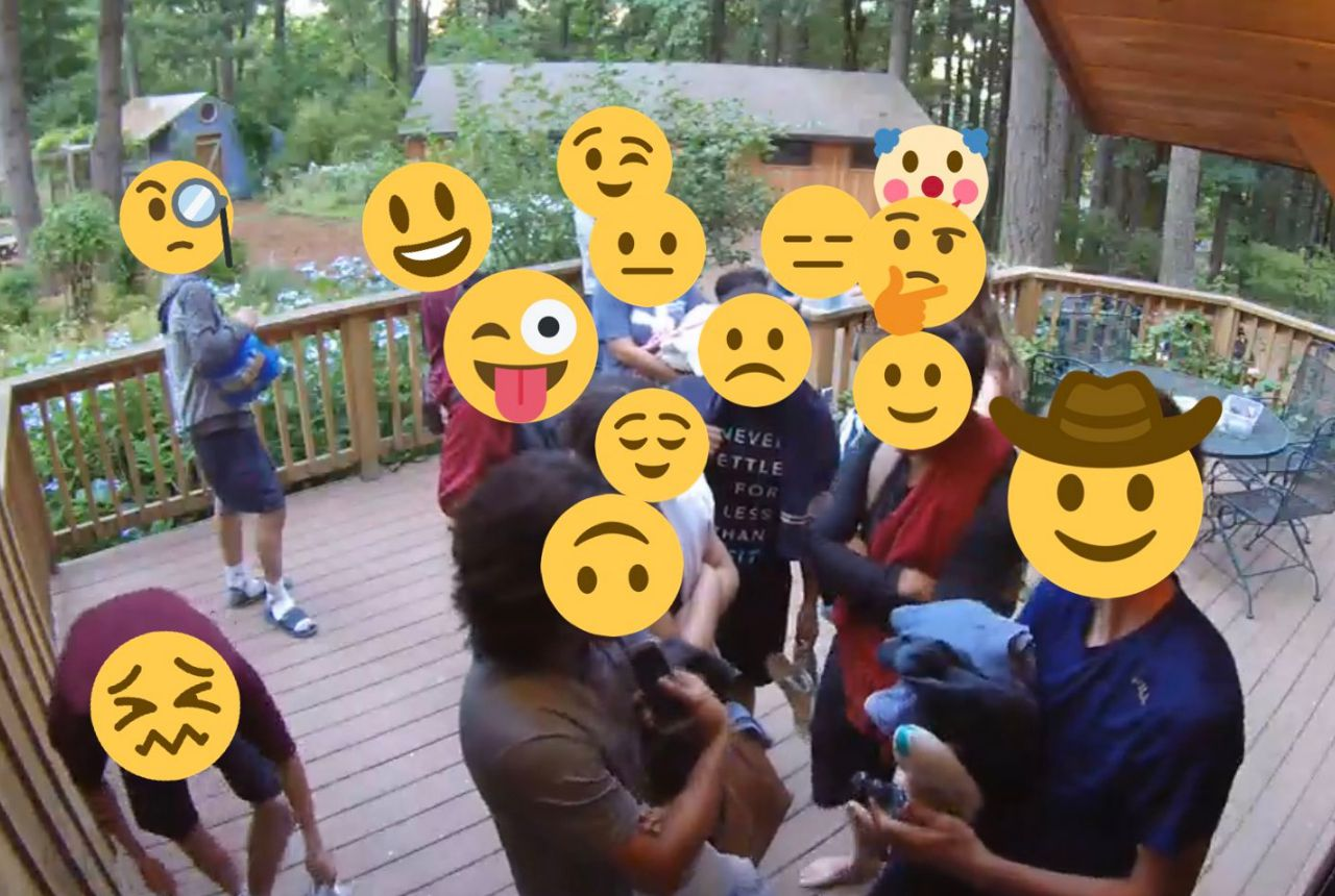christian bible study group rented an airbnb