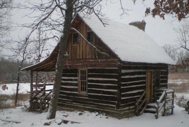 rotting log cabin cost