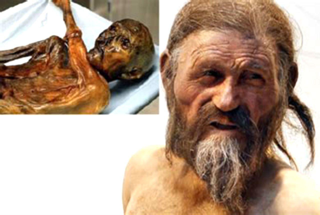 couple discovered an ancient iceman