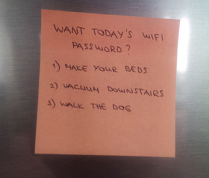 funny notes from parents