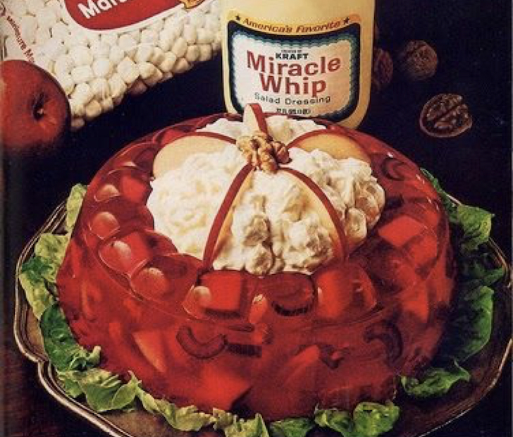 gross vintage holiday recipes