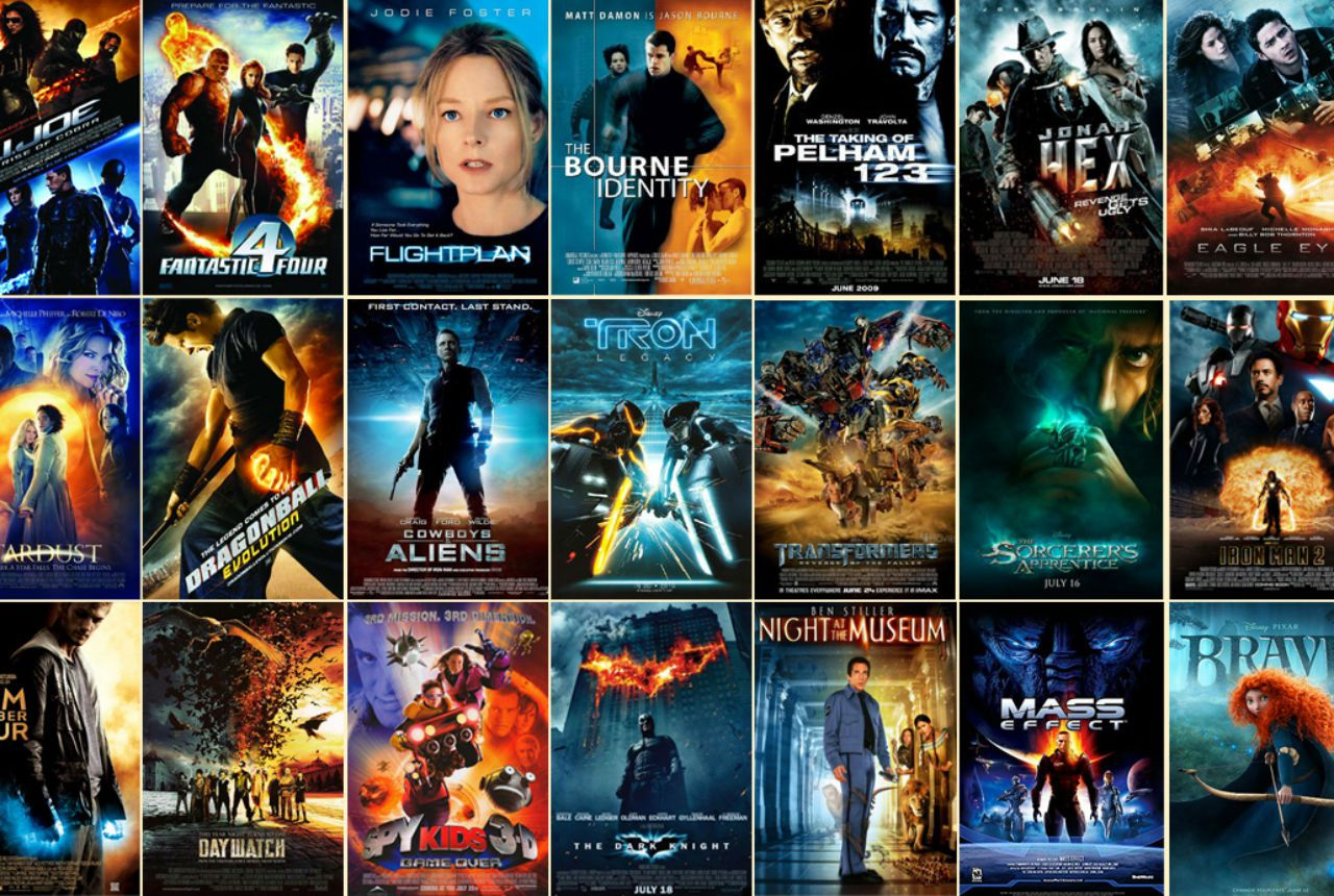 orange-and-blue movie posters