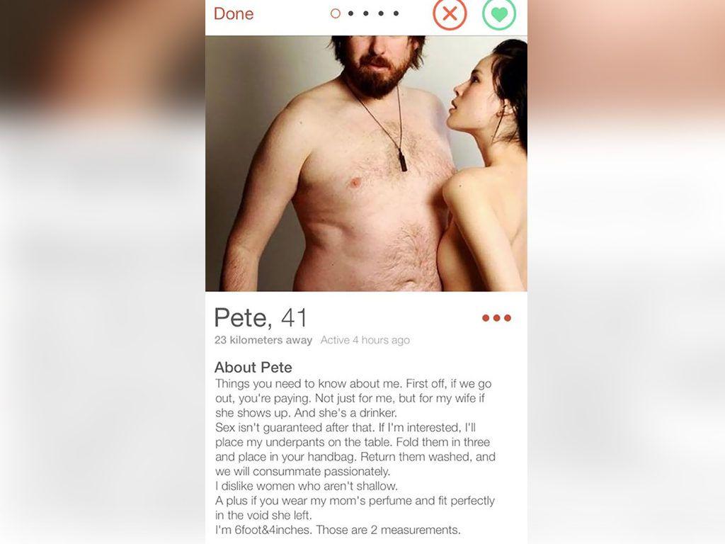 dating app bio cliches