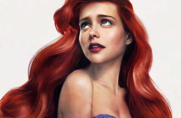 An Artist Reimagined Disney Characters as Real People and They're Gorgeous