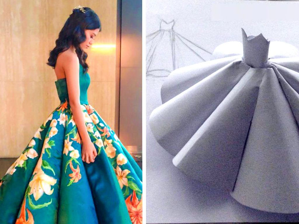 This High School Student Made Her Own Prom Dress From Scratch And Left Her Classmates Stunned Obsev